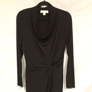 Black dress by Micheal Kors size Med long sleeve.
